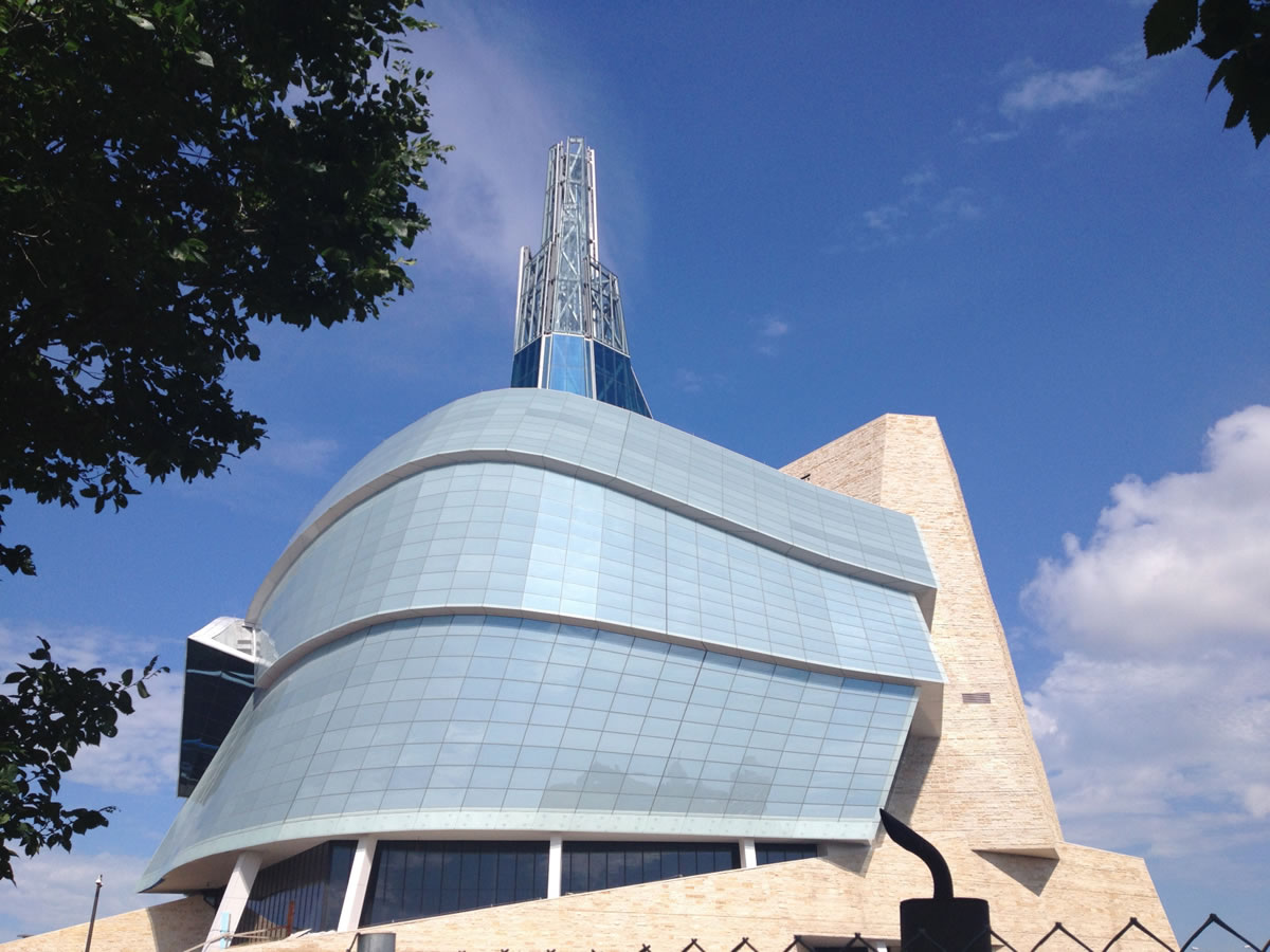 Rights Around Us: A tour of the CMHR -