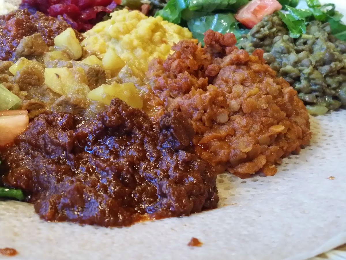 Review: Gohe Ethiopian Restaurant - Ethiopian sampler