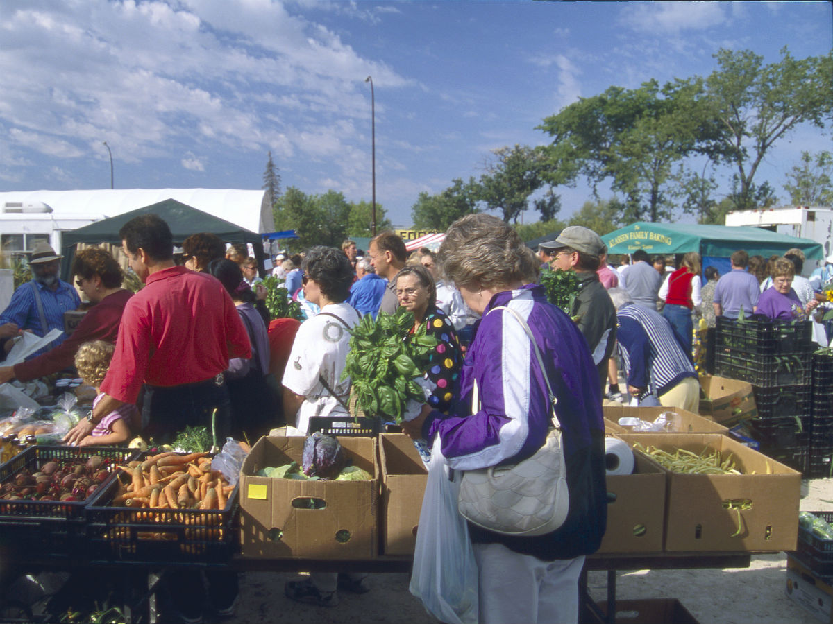 New & Noteable: The Forks Farmers' Market - A line up for the freshest of the fresh during the market season