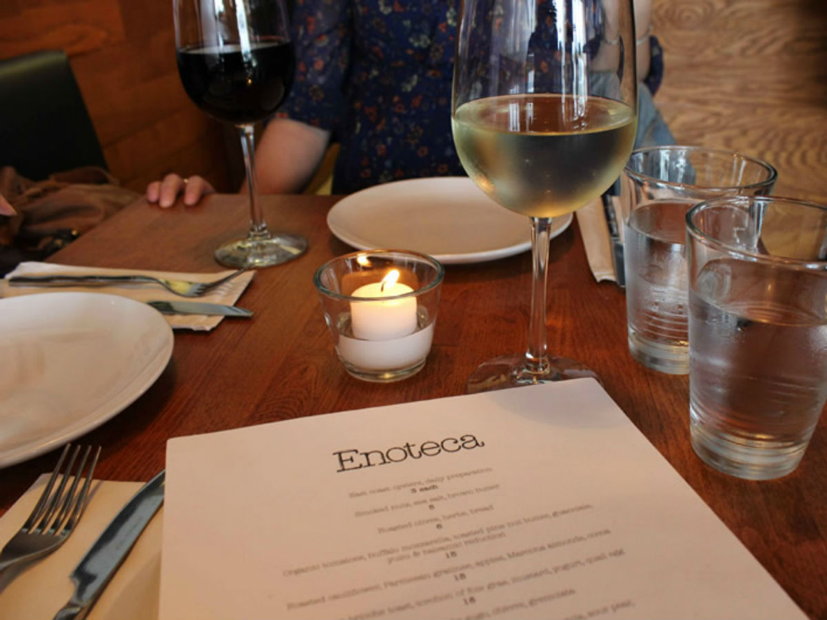 Review: Small plates celebrated at Enoteca -