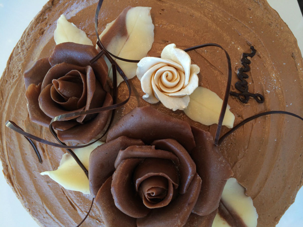 New and Improved: Chocolatier Constance Popp - All things chocolate on this decadent cake!