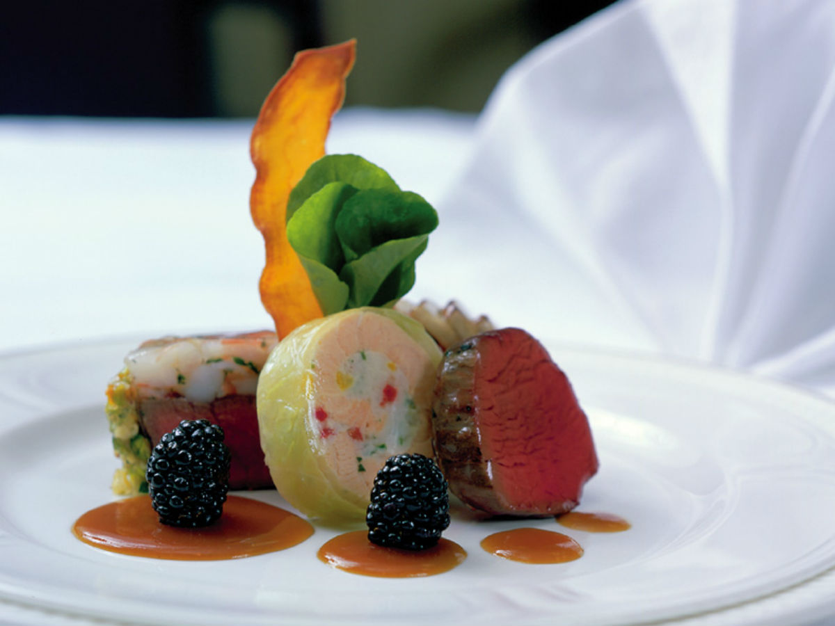 Contest Winner: Dusk until Dawn - A wonderful plating by the team at The Velvet Glove
