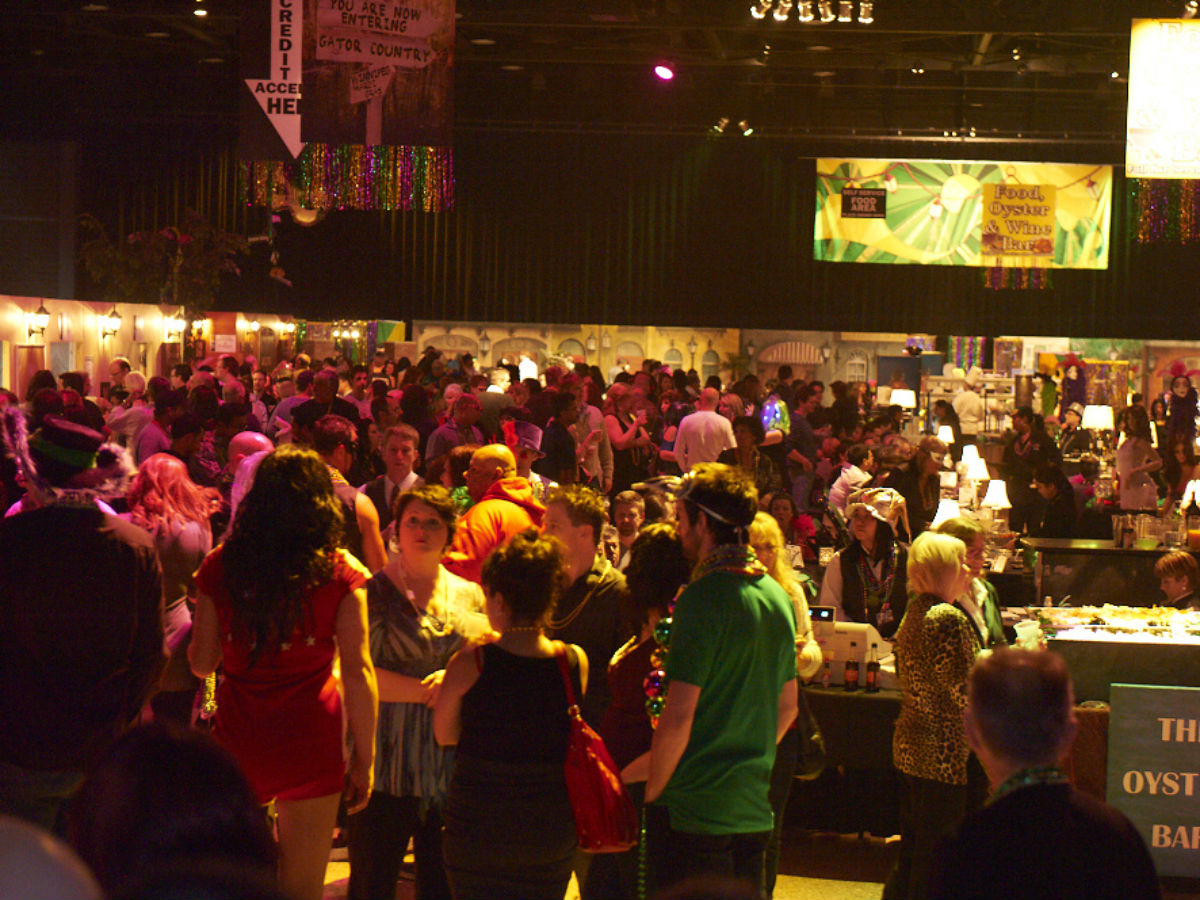 Contest: Win Tickets to Mardi Gras 2015 - Central hall for Mardi Gras 2015