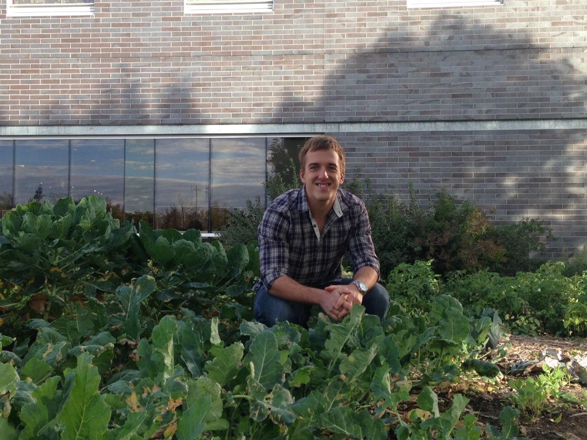 CitiGrow brings farm to table a small plot closer - Citigrow hosts PegCityGrub in their restaurant-side gardens.