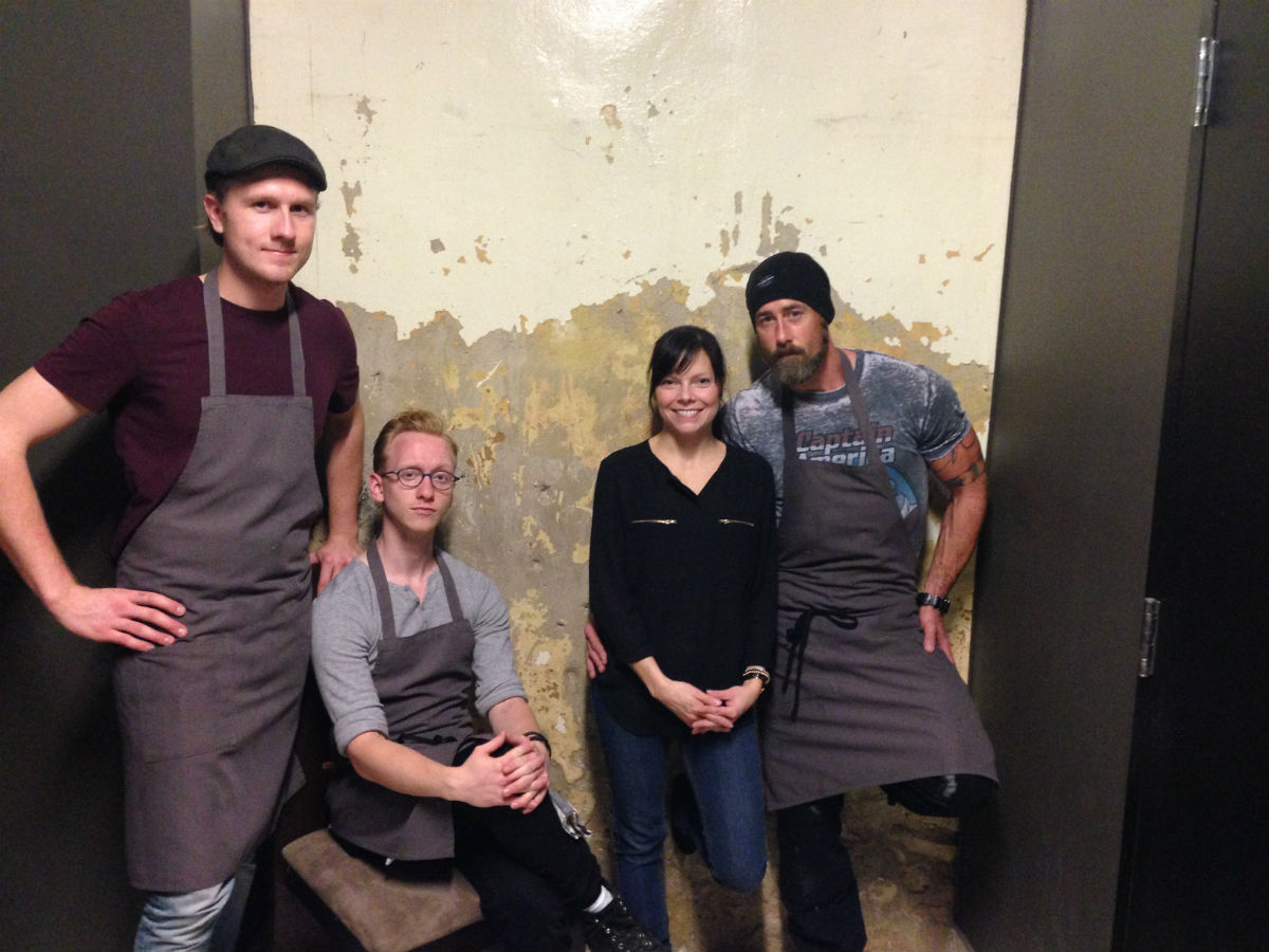 The Sentruhl project takes your tastebuds on a new tour every weekend - Spencer Smith, Sean Audet, Traci and Gordon Bailey (PCG)