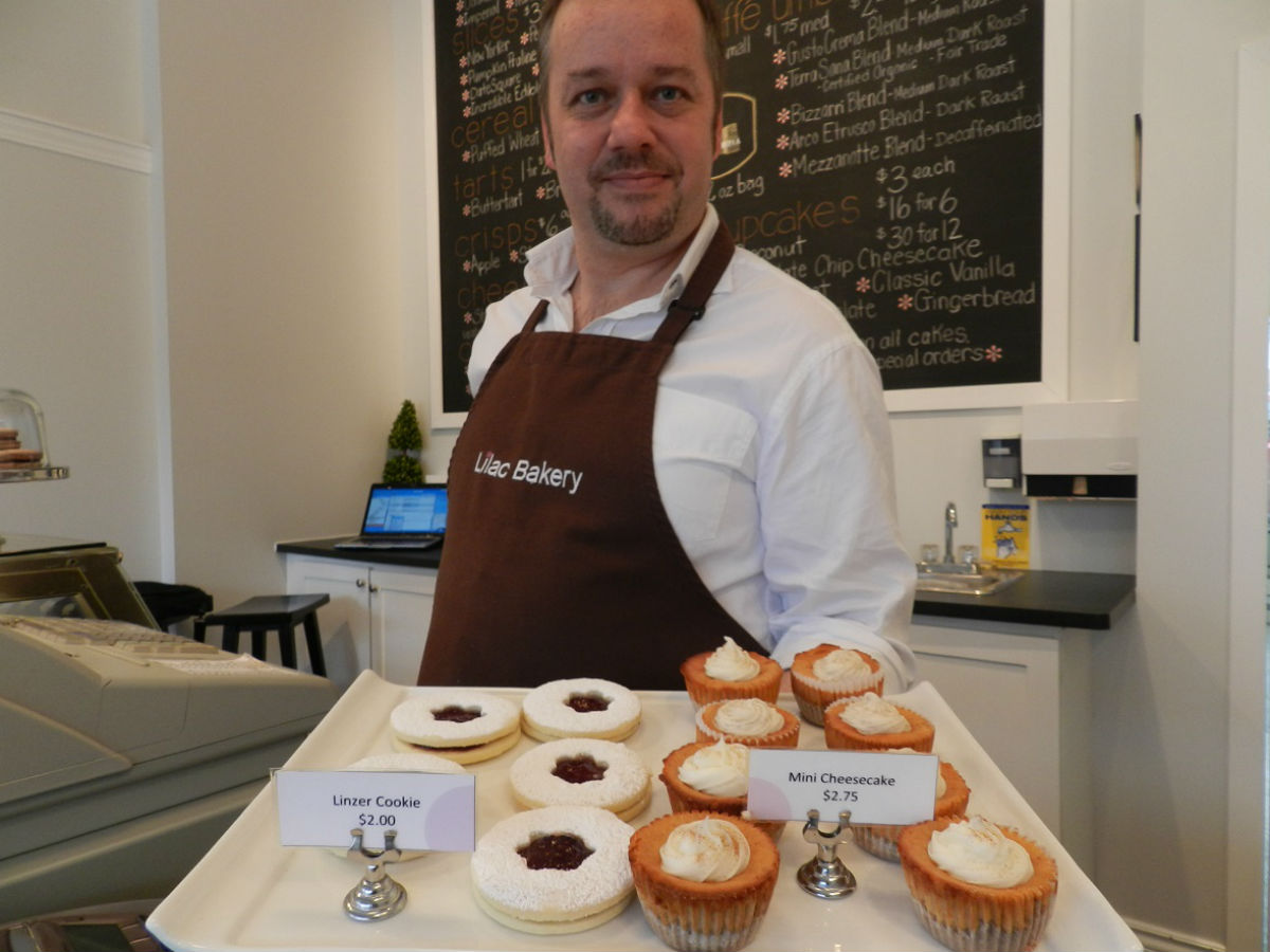 A Decadent December gift guide - Christopher Atkinson, owner of Lilac Bakery