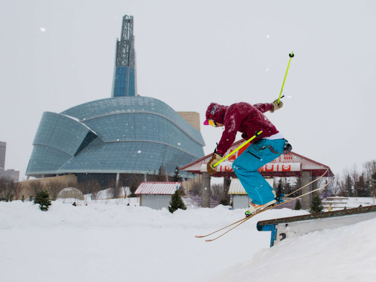 Find all the outdoor winter fun at The Forks this January -