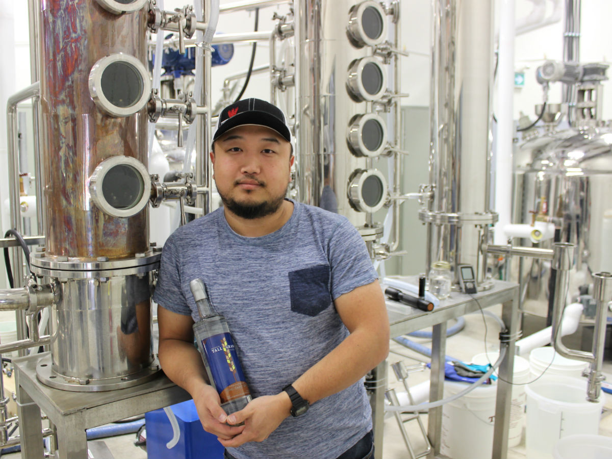 Manitoba's first craft distillery and tasting room is making some of the best vodka and gin we have ever tasted - Capital K owner and distiller Jason Kang