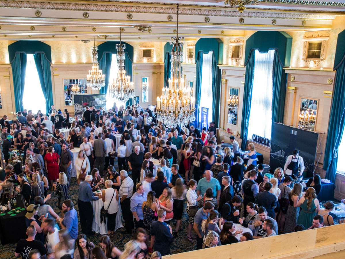 New & Notable: 2017 Summer Edition - A scene for last year's MADE WITH LOVE cocktail competition at the Fort Garry Hotel (MADE WITH LOVE)