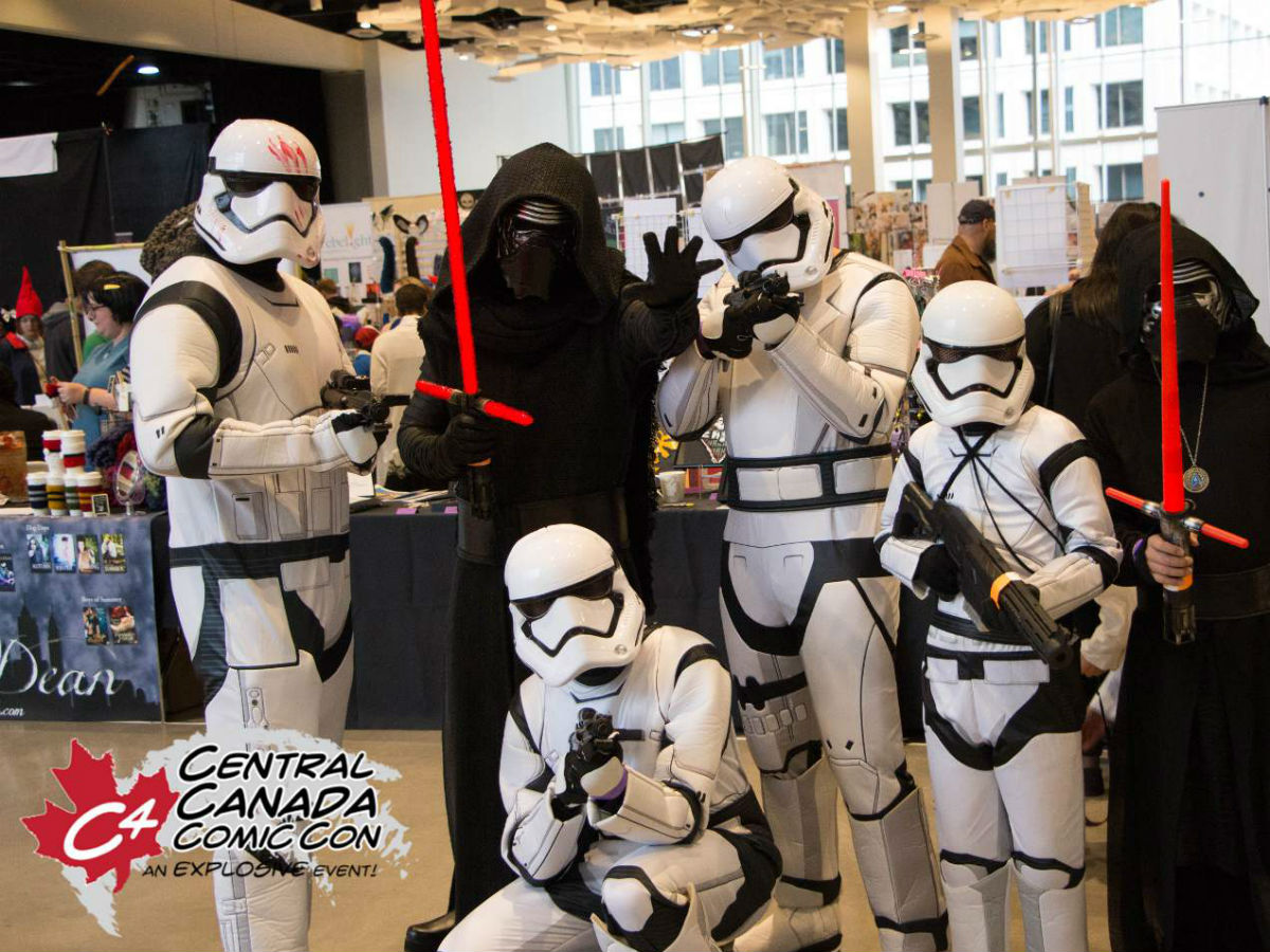 Don't be the last Jedi to Central Canada Comic Con  - The dark side of the Force is strong with these C4 attendees (Raven Studios)