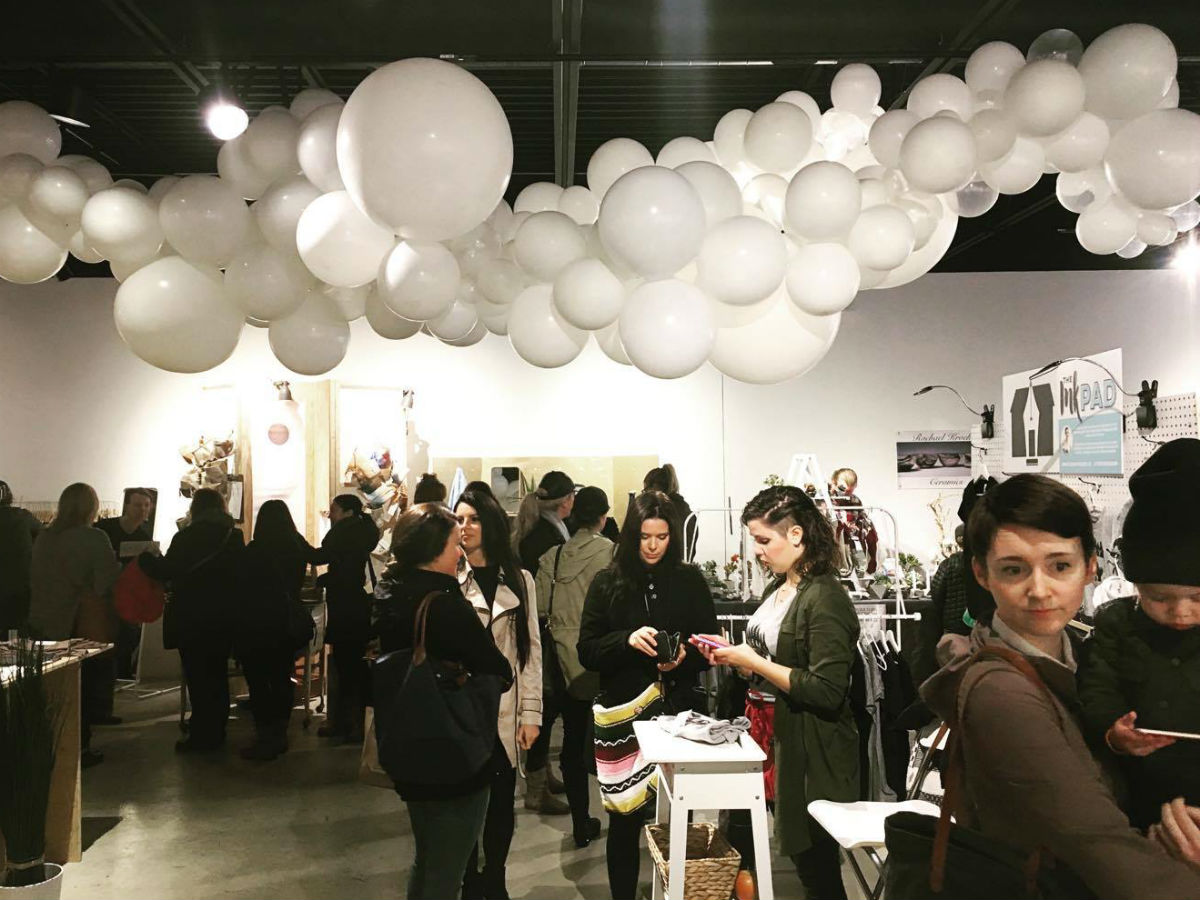 12 Days of Holiday Markets in Winnipeg - Photo from the 2016 Luckygirl Holiday Pop Up (Luckygirl Photography)