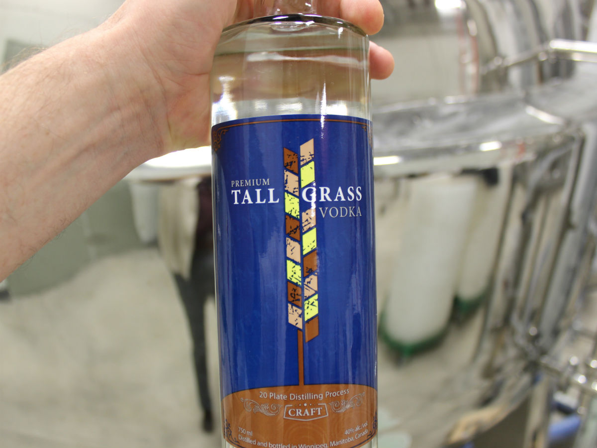A Peg City Grub guide to locally made gourmet gifts - We'd readily welcome Tall Grass Vodka from Capital K Distillery under our tree (PCG)