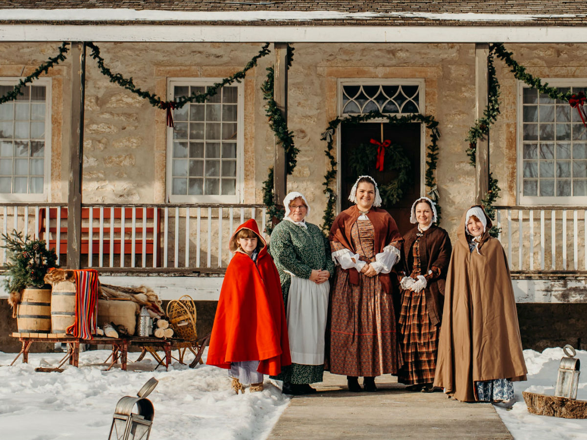Even Scrooge would approve of Parks Canada Winnipeg's Red River Christmas at Lower Fort Garry  - These fine folks from the 19th century are ready to bring some Christmas cheer (Parks Canada Winnipeg)