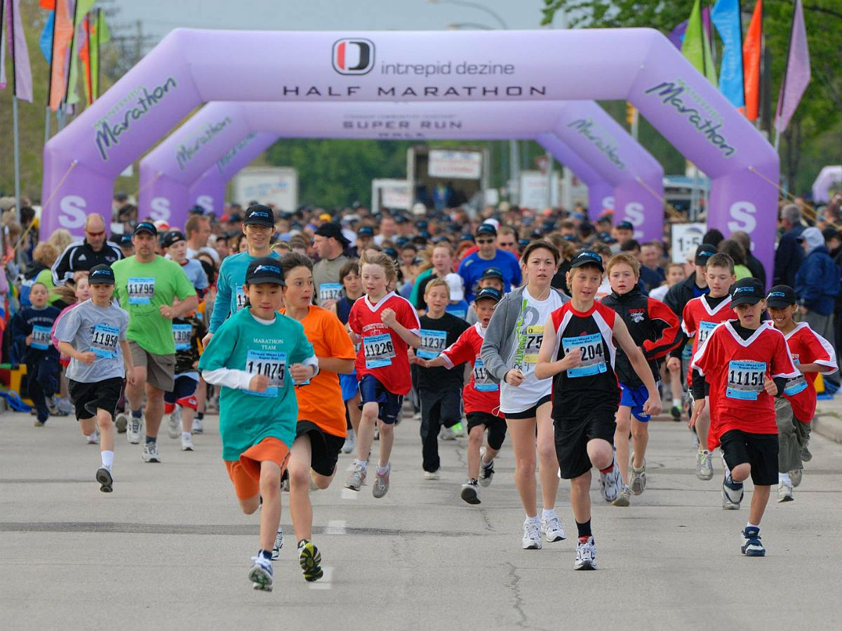 It's never too early to register for the 2018 Manitoba Marathon - From kids, to adults, to amateurs and pros, there's a race for everyone at the Manitoba Marathon (Olivia Dolinsky)