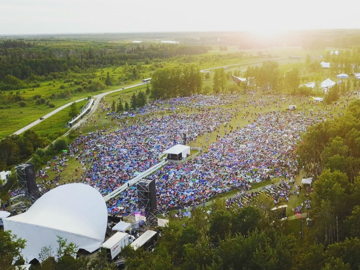 An audio-visual guide as to why you should get your early bird Folk Fest tickets right now - Photo courtesy of the Winnipeg Folk Festival