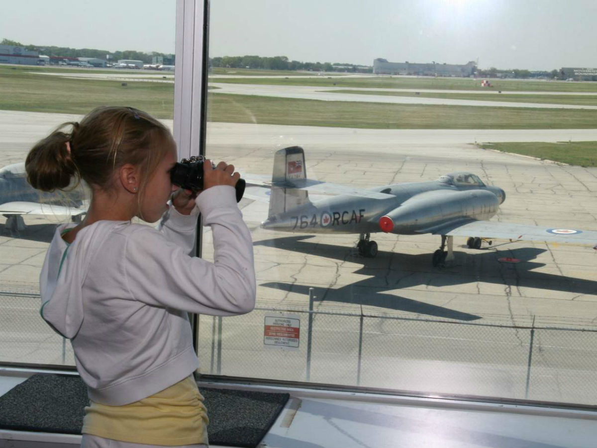 Your family's excitement levels will soar at the Royal Aviation Museum of Western Canada  - Plane spotting at the Royal Aviation Museum of Western Canada