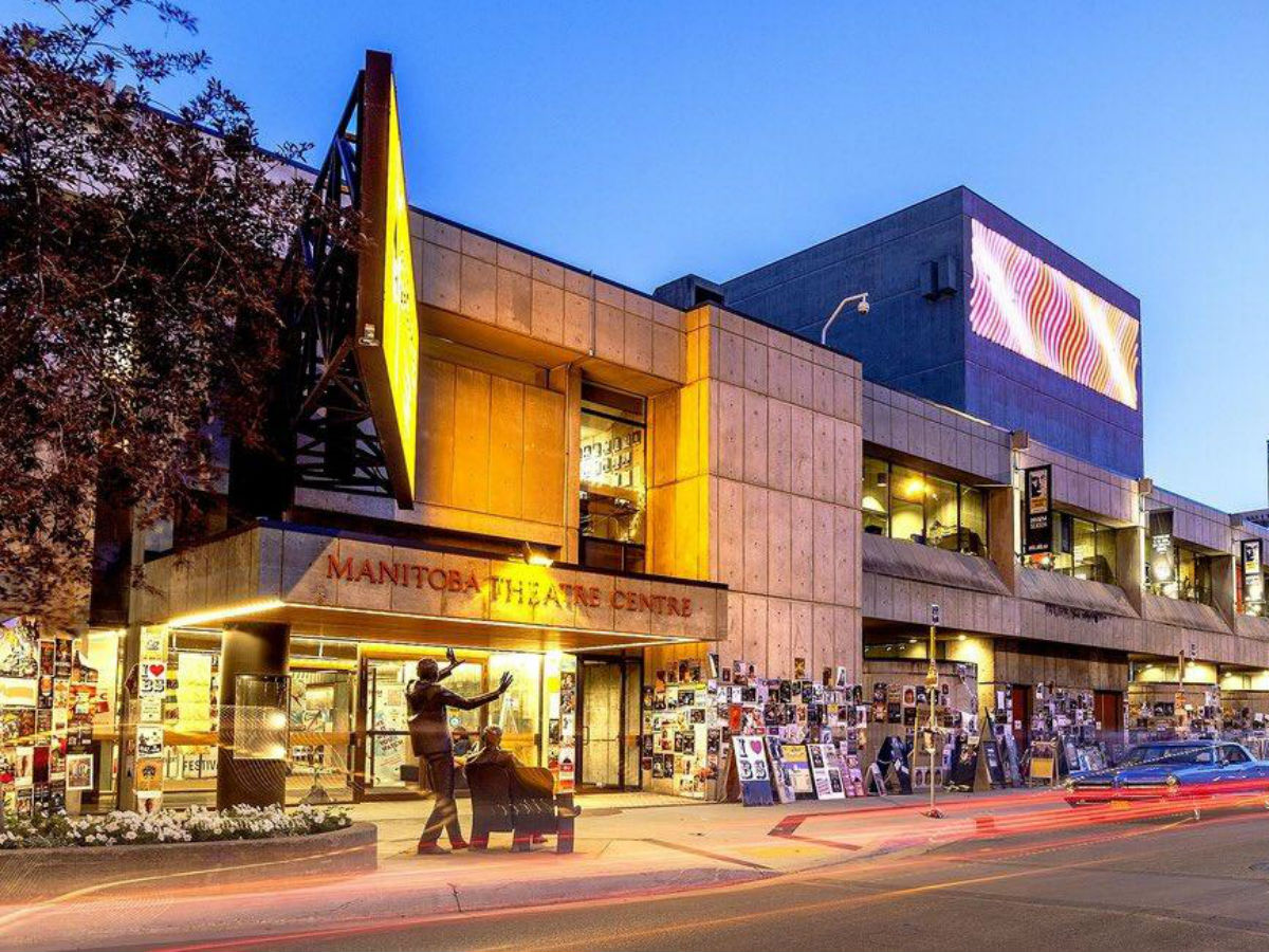 ​A strong finish to the arts season - The Royal Manitoba Theatre Centre is a hub of artistic activity (photo credit: Michael Pratt via Number TEN Architectural Group)