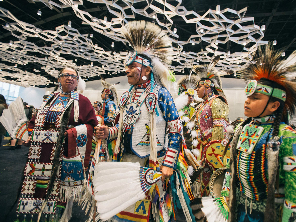 13 reasons why the Manito Ahbee Festival is a can't-miss experience  - Dancers in their regalia at last year's Manito Ahbee Festival (photo by Jen Doerksen courtesy of Manito Ahbee Festival)