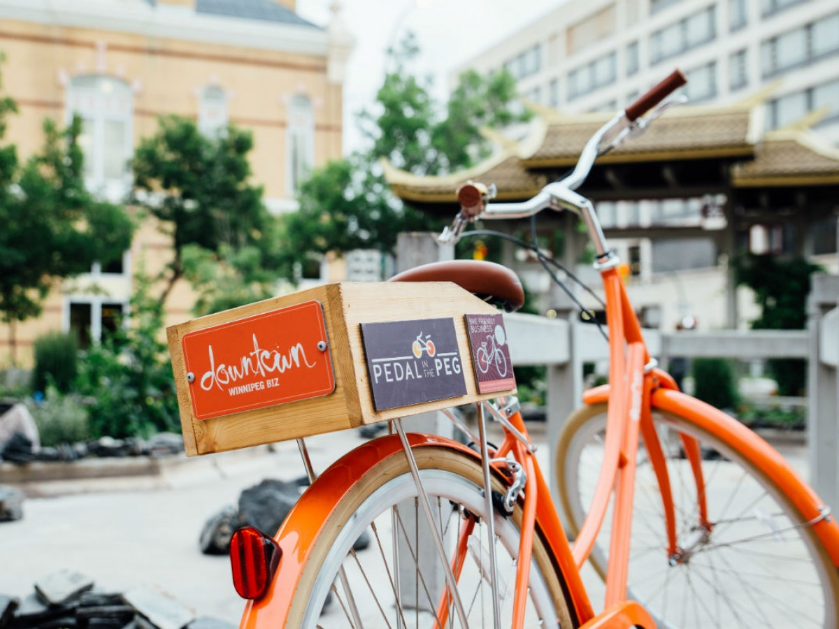 Downtown Winnipeg Biz has a tour for you!  - Imagine yourself on this sweet ride this summer on a Downtown Winnipeg Biz Moveable Feast Tour (Downtown Winnipeg Biz)