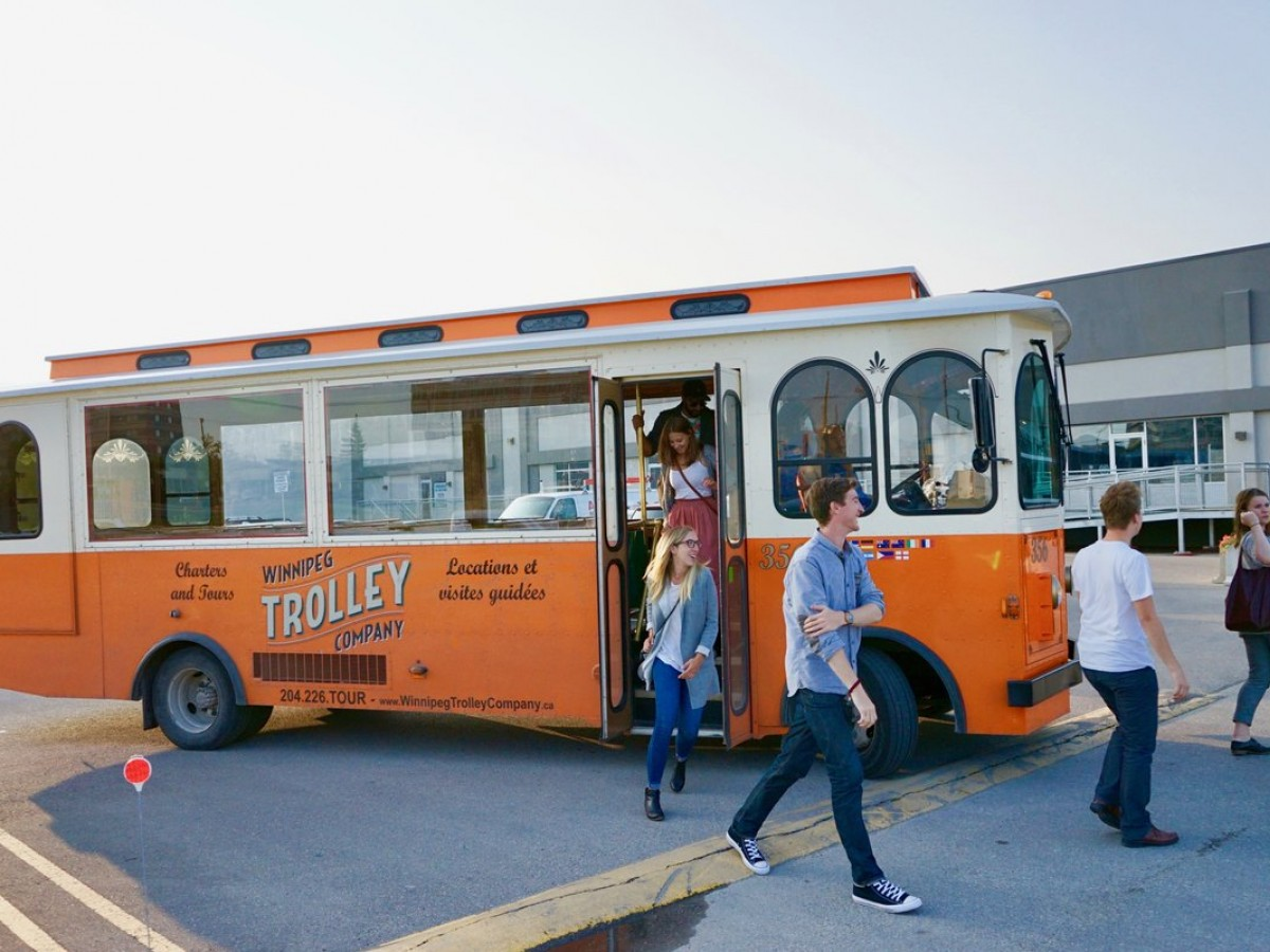 Hops & Stops: Why the Winnipeg Trolley Ale Trail is an experience you'll want to pore over - The Winnipeg Trolley Ale Trail takes you to some of the city's best breweries (Tyler Walsh/Tourism Winnipeg)