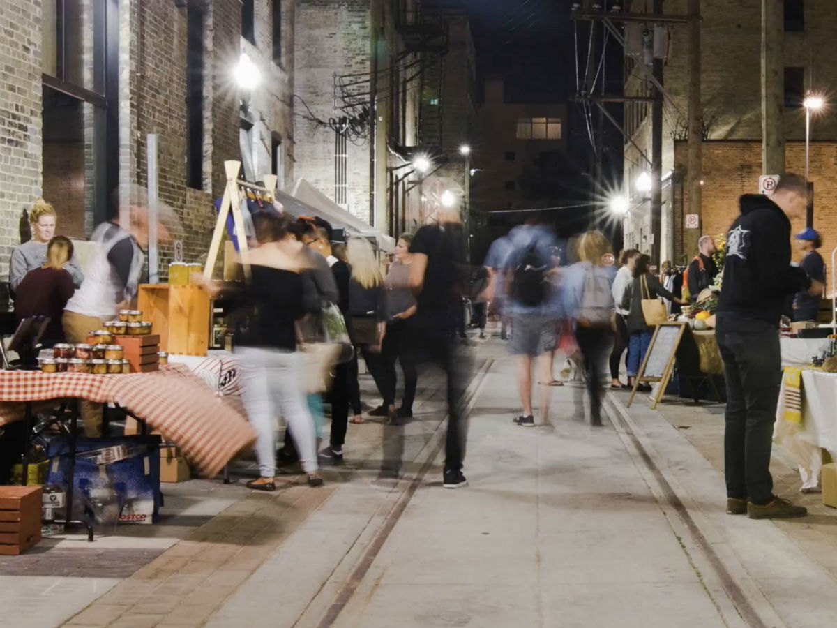 Alleyways Market in The Exchange is one sweet street shopping experience - Photo Courtesy of Exchange District Biz