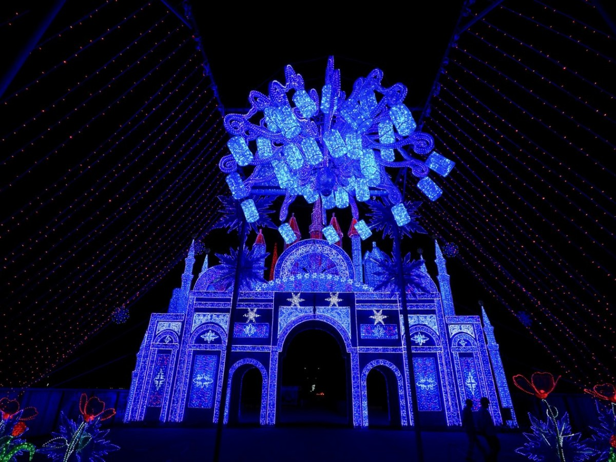 Lights of the North Chinese Lantern Festival is now set to shine  - Just one of the many incredible light exhibits you will see at Lights of the North (Tyler Walsh)