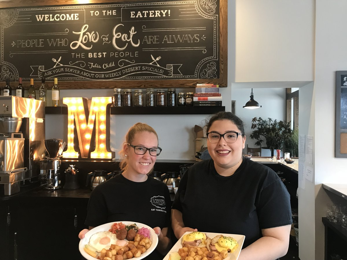 Marion Street Eatery is still a female-led force that wears the comfort food crown - Marion Street Eatery manger Hayley McMurray and chef Camila Gamboa (PCG)