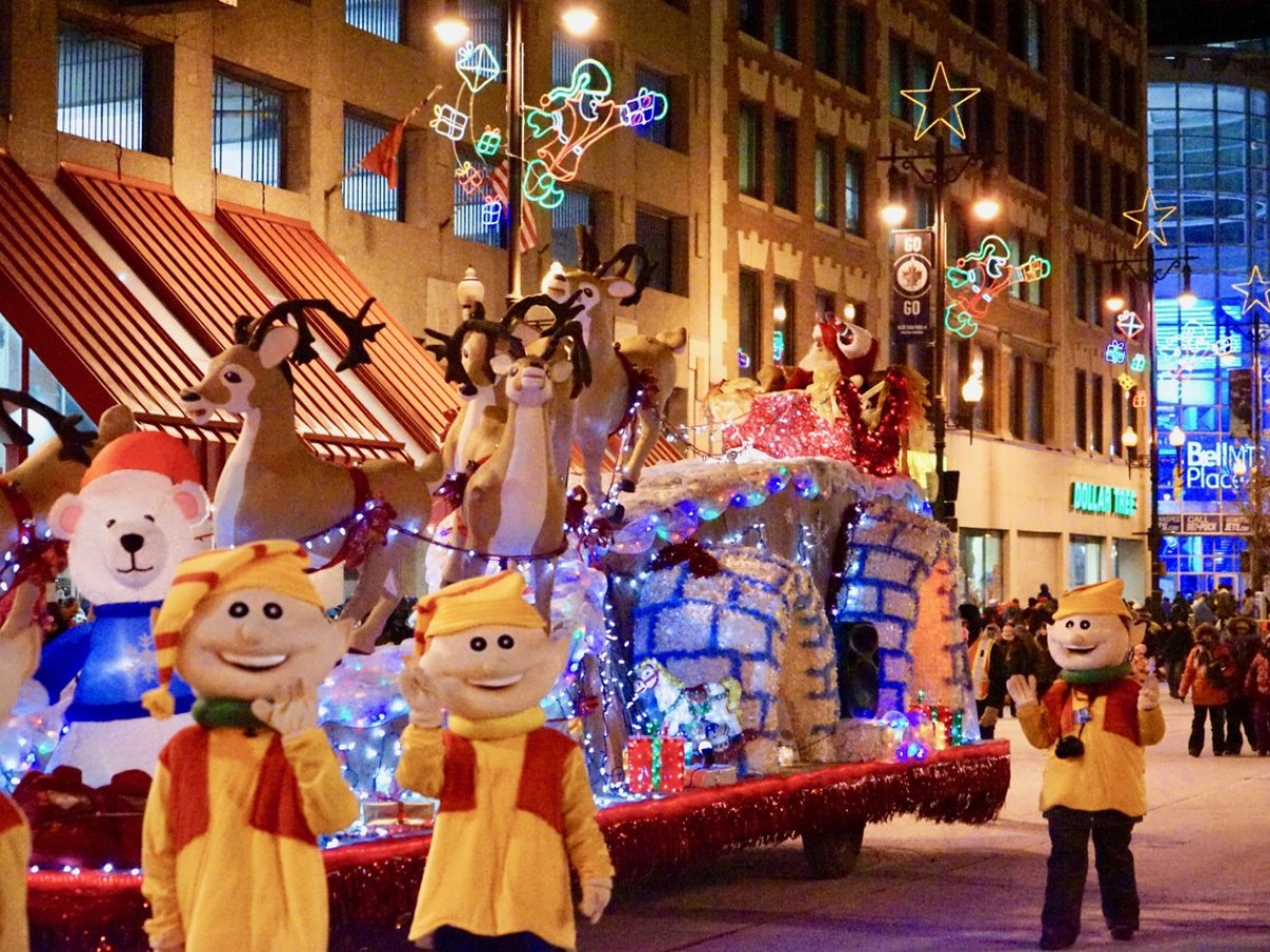 Winnipeg's 109th Santa Claus Parade gifted new life to bring even more magic on November 17 - Santa's float, which has now been revamped, from last year's parade (Tourism Winnipeg)