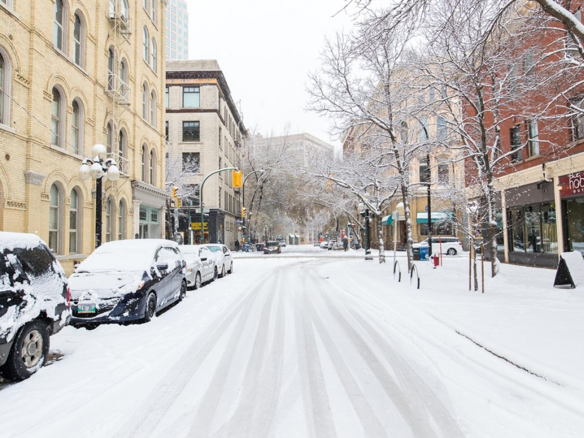 Head straight to the Exchange District for all your holiday shopping - Use PayByPhone when parking in the Exchange — no loose change required! / Mike Peters