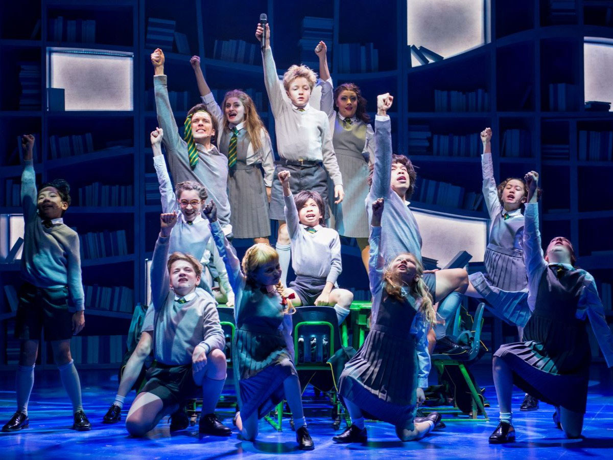Review: The kids are more than all right in Matilda - The cast of Matilda. Photo by Dylan Hewlett, courtesy of RMTC.