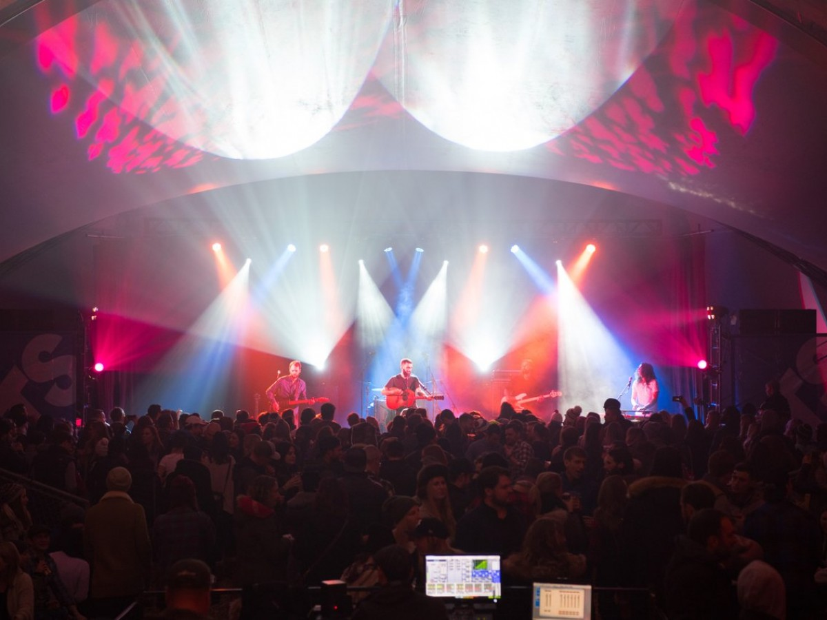Five fresh reasons why Festival du Voyageur is looking fine at 50 - The tents will be filled with music and people have a hého old time at Festival Du Voyageur (photo by Dan Harper)