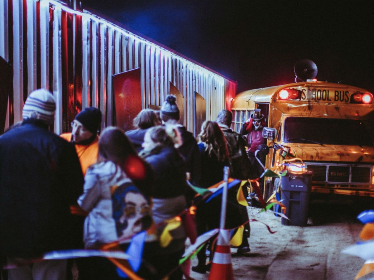 Where to find the best scares in Winnipeg this Halloween season - Photo courtesy of Heebie Jeebies, where you'll encounter 100 terrifying characters