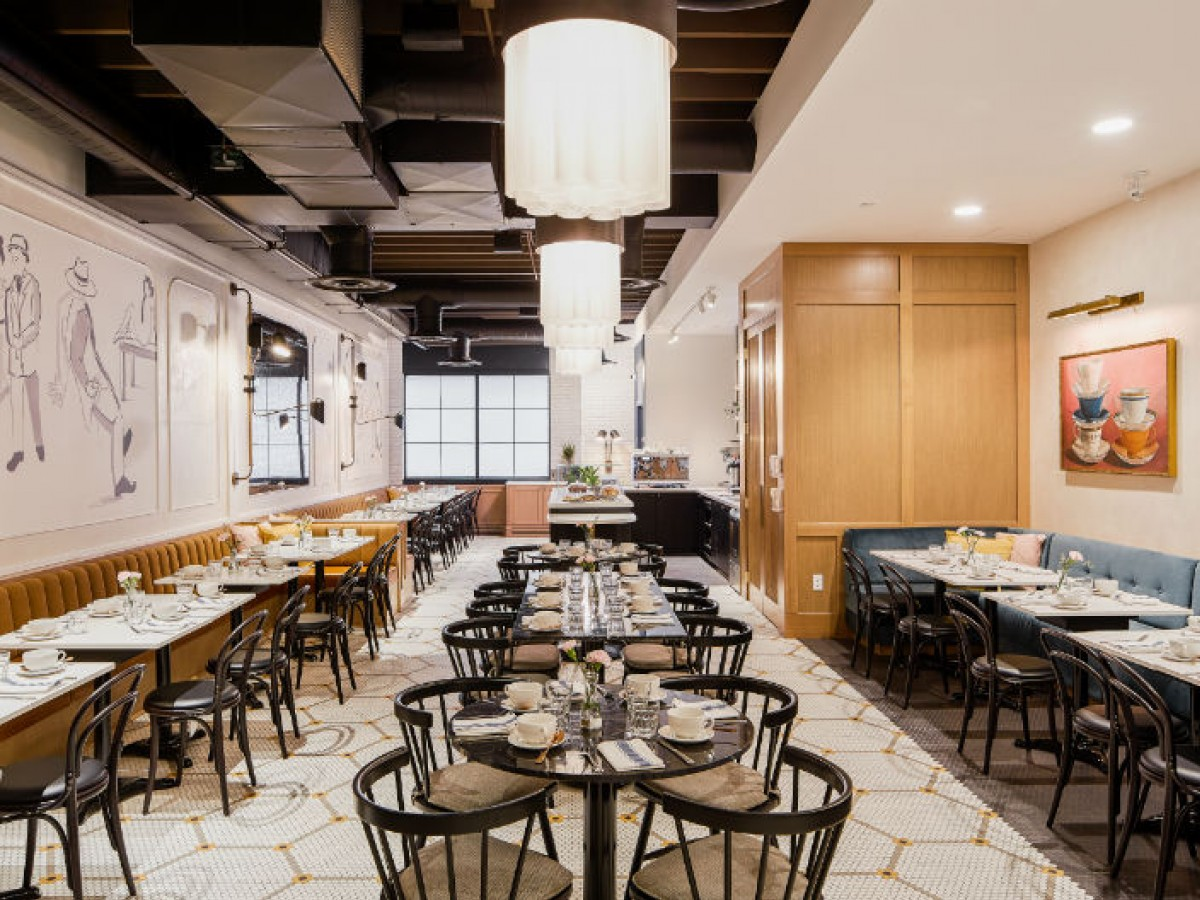 The Norwood Hotel is now home to two new gorgeous restaurants  - Pauline's dining room (Cory Aronec for Sparrow Hotels)