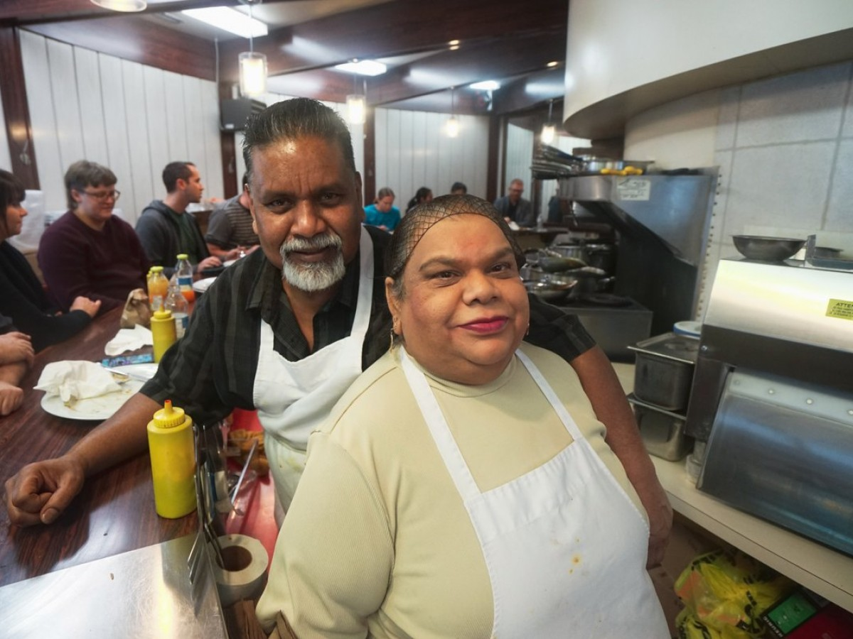 WATCH: Follow your nose to Famena's Famous Roti/Curry - Mohamad and Famena Ally during lunch service (Tyler Walsh)
