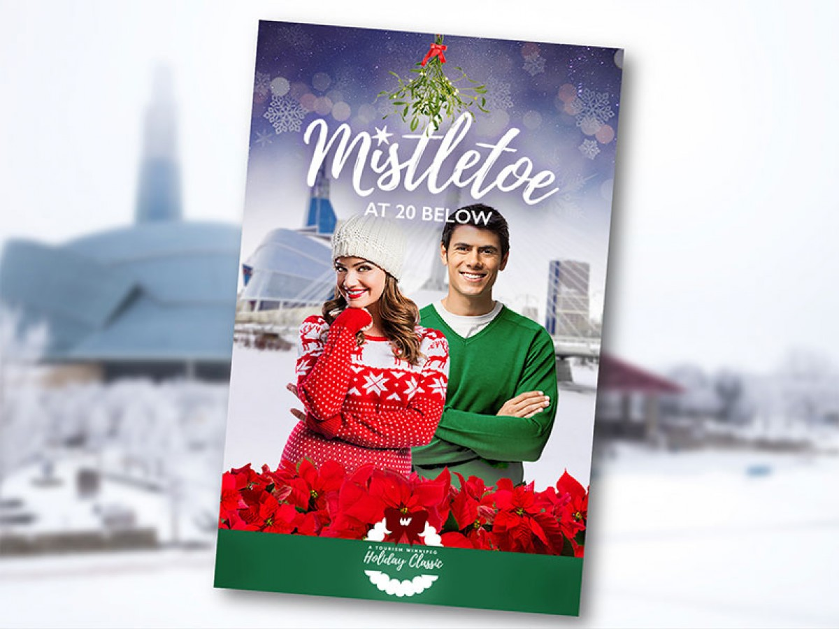 Winnipeg: A hallmark setting for Hallmark (& Lifetime) Christmas films - We are so into Hallmark films that we even designed our own poster for our pitch (Design by Karen Allen)