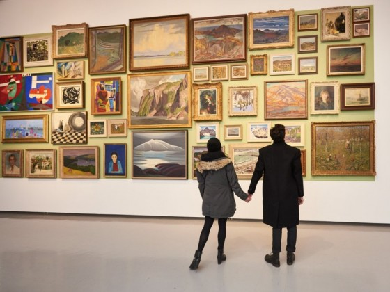 Fall in Love with Winnipeg: Valentine's weekend itinerary - Spend an afternoon arm-in-arm at the Winnipeg Art Gallery (photo by David Lipnowski)