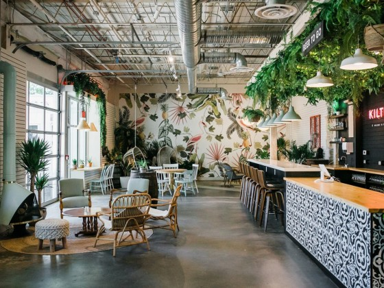 New & Notable: August in Winnipeg - Kilter's new taproom is absolute paradise for fans of the brewery (photo: Alyssa Arnold for Kilter Brewing)