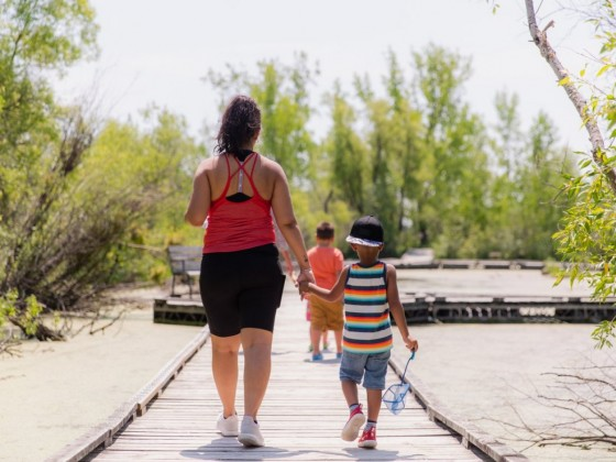 For Earth Day (and every day) in Winnipeg: a green guide - FortWhyte Alive is all about conservation and connecting people with nature (photo by Mike Peters)