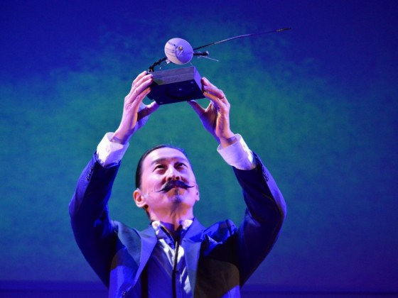 New things to experience this May in Winnipeg - Tetsuro Shigematsu in his play 1 Hour Photo which is running online now at Prairie Theatre Exchange (photo by Raymond Shum)