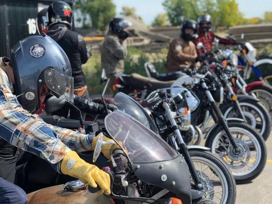 Motorcycle tourism in Winnipeg
