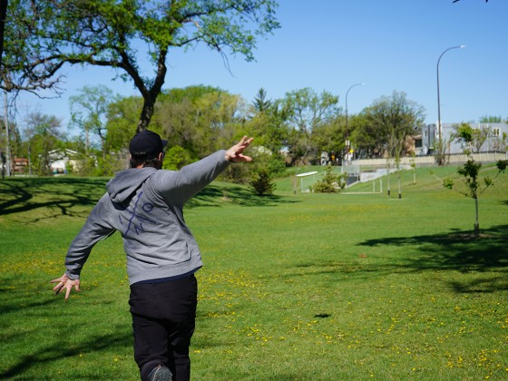 Disc golf: gliding into summer  - Disc golf in Happyland Park