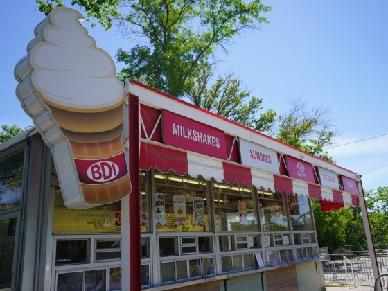A 2021 Winnipeg ice cream guide - BDI is open for the summer (photo: Colin Jackson)