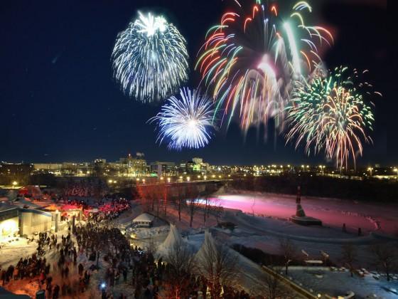 New Year's Eve 2016 in Winnipeg