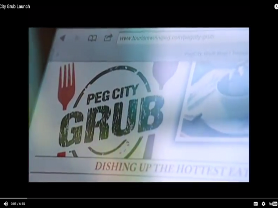 Peg City Grub on Shaw TV