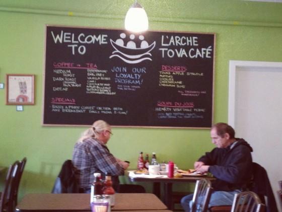L'Arche Tova Café: Model Café