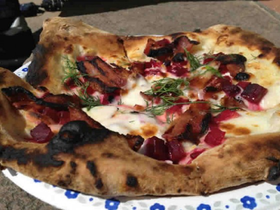 Red Ember: Pizza on a roll