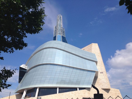 Rights Around Us: A tour of the CMHR