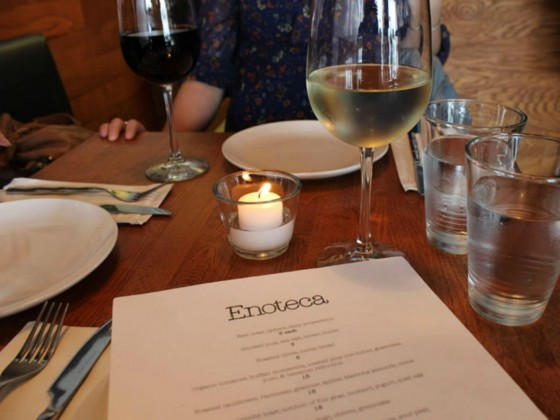 Review: Small plates celebrated at Enoteca