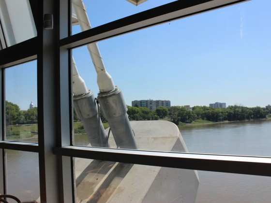 Chez Sophie sur le Pont: Lunch with a view