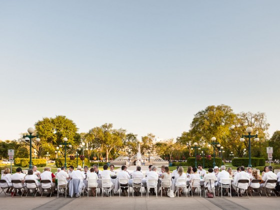 Table for 1200 More brings family style dining to great lengths